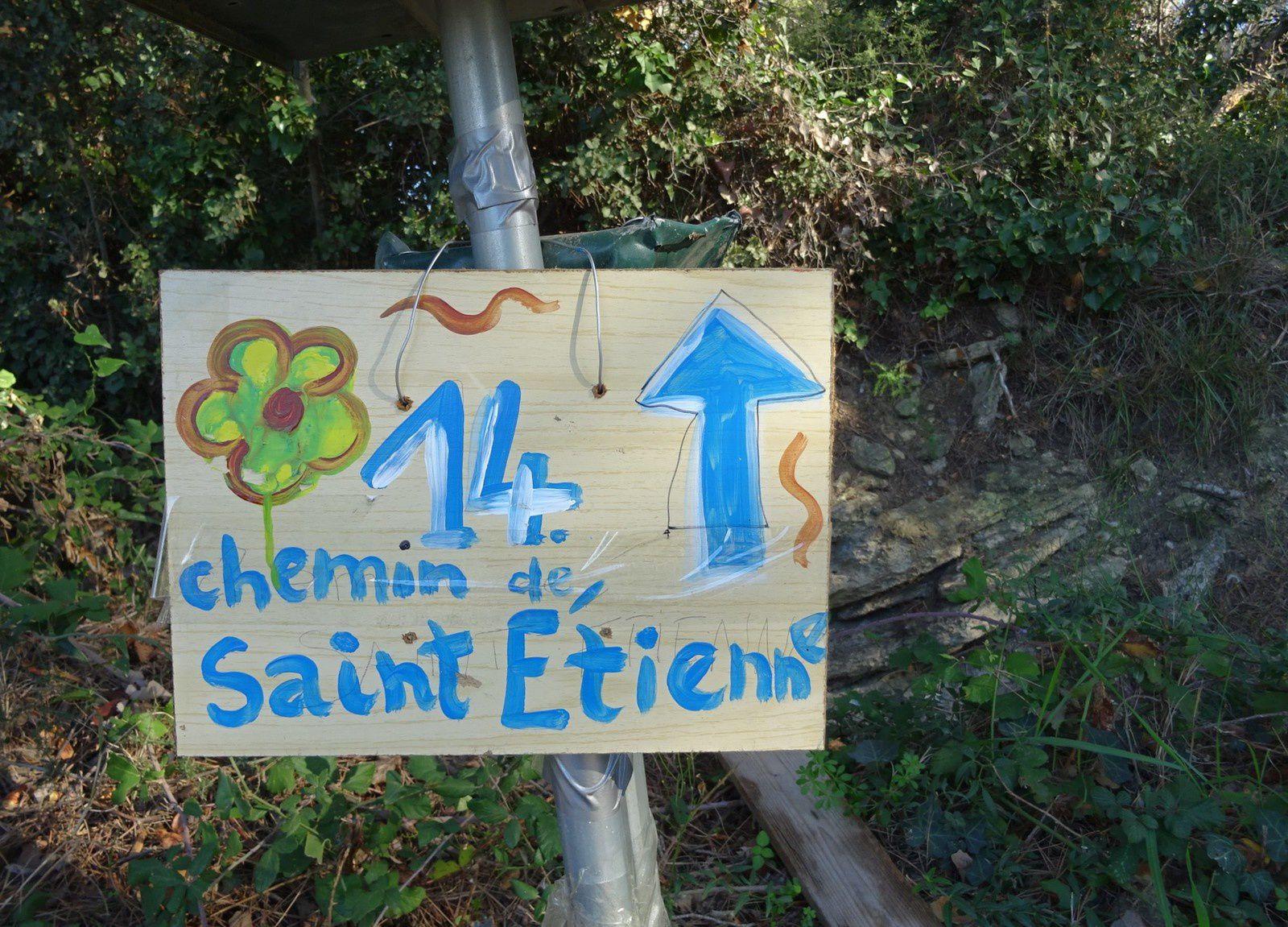 Ça ne s'invente pas ! l'endroit s'appelle le Quartier Saint Etienne.