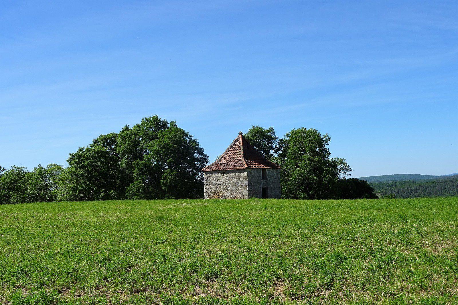 La petite maison dans la prairie.