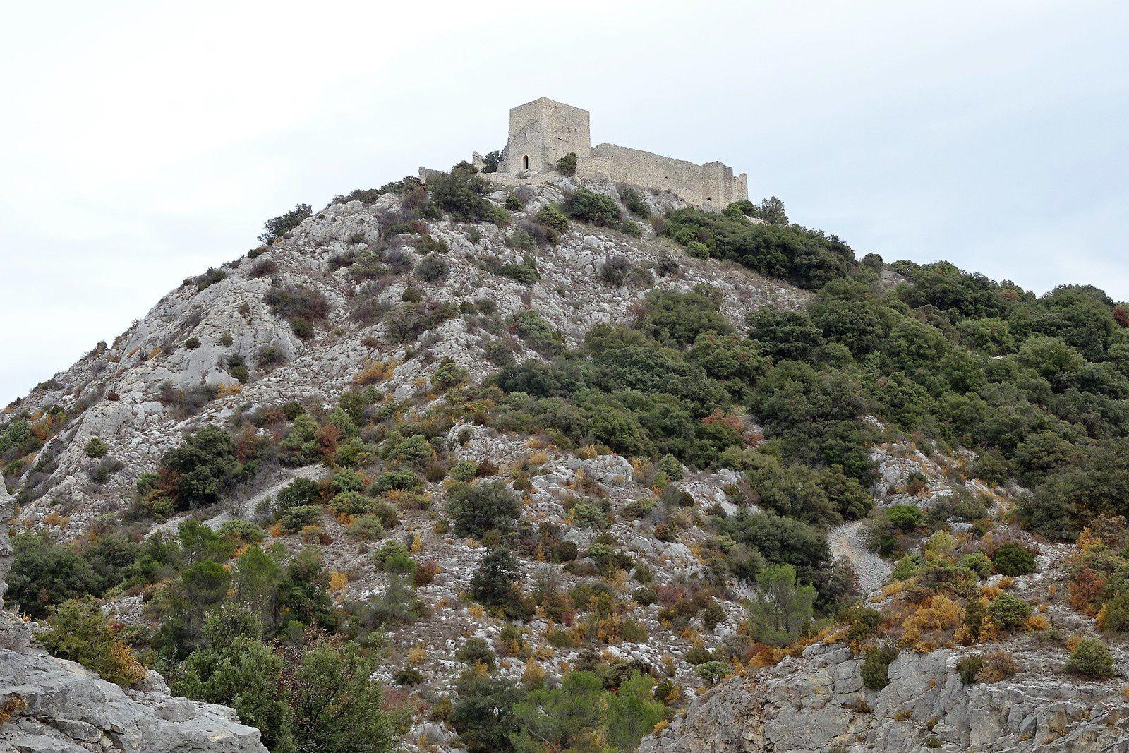 Le lendemain nous sommes partis de Saint Victor Lacoste.
