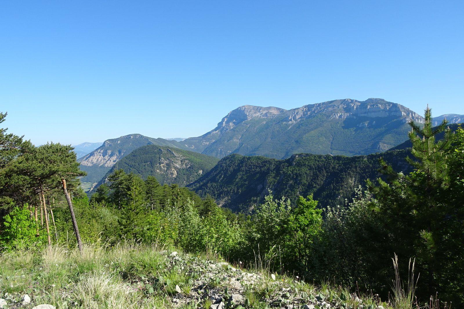 Nous allons quitter progressivement la Drôme et passer dans les Hautes Alpes.