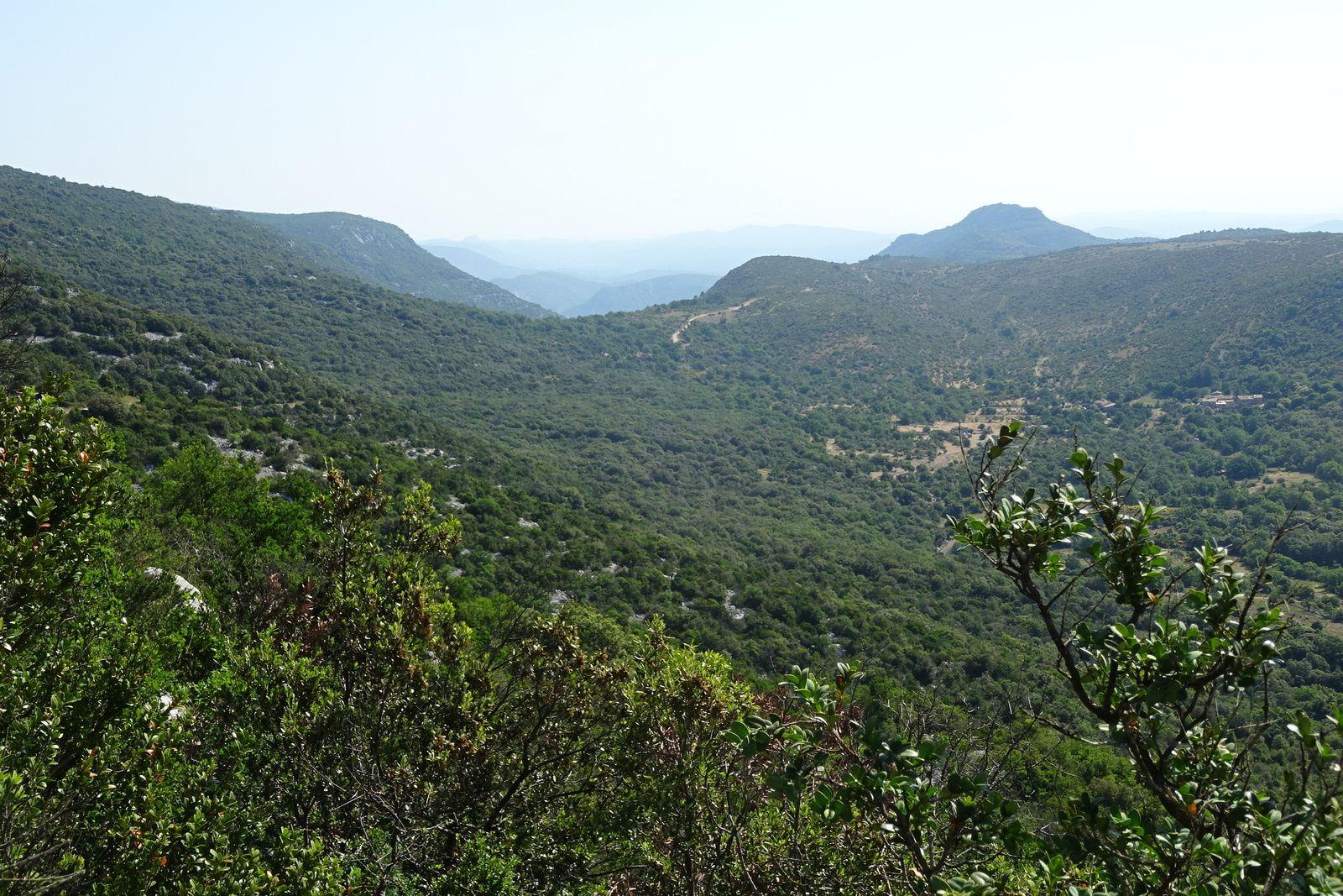 Nous partons d'à peine trois cent mètres et nous montons à 848 mètres jusqu'au mont  Saint Baudille.
