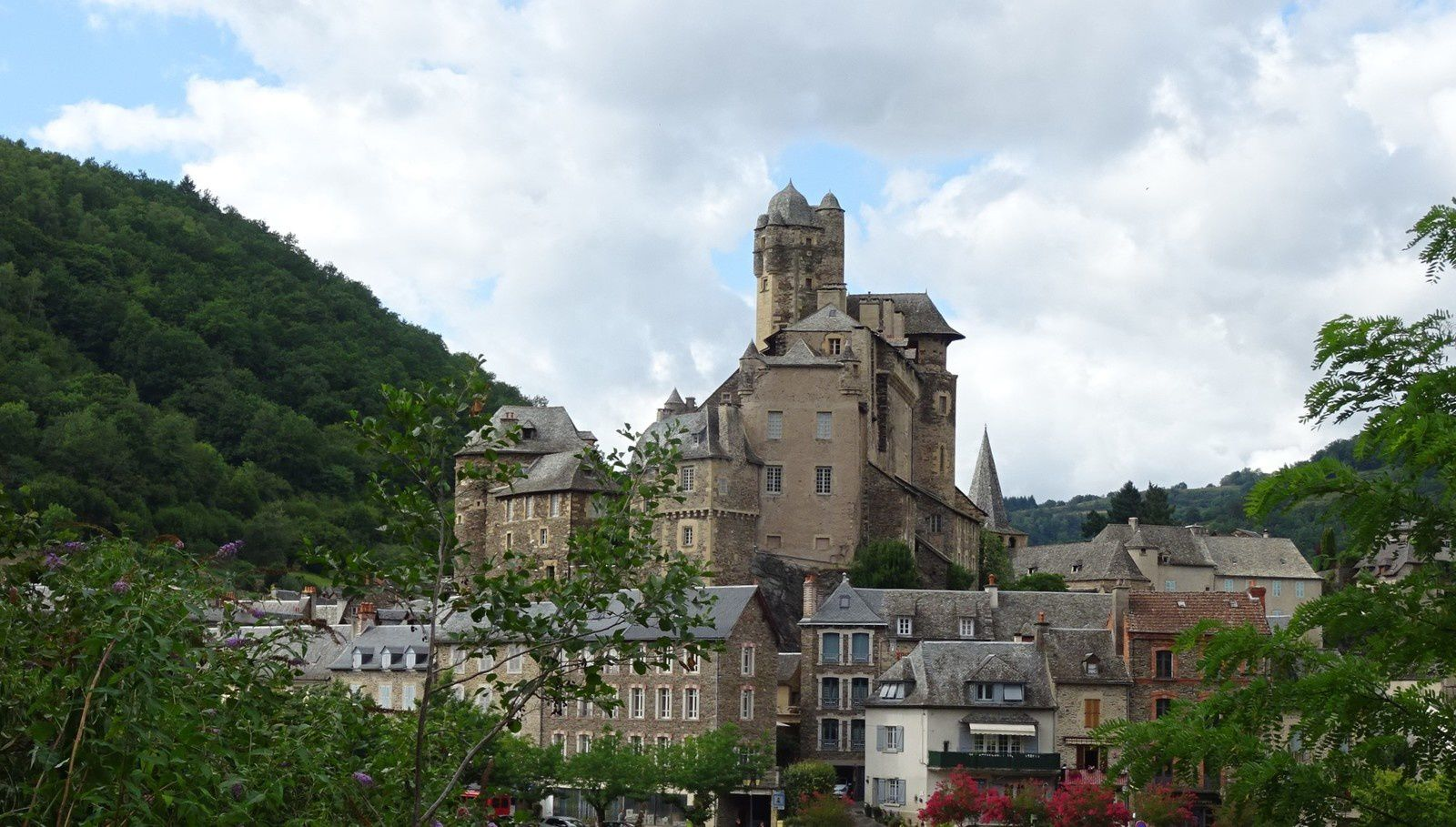 Le retour à Estaing.