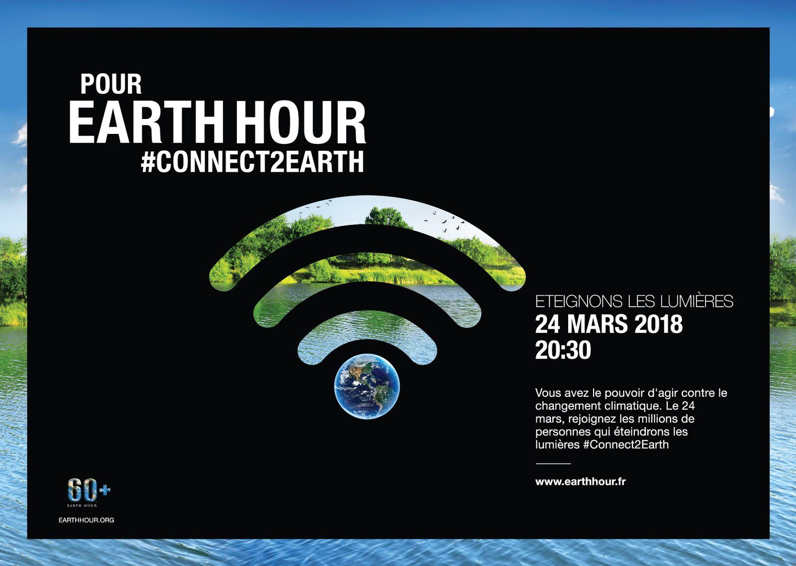 Earth Hour de WWF mobilisation citoyenne pour la Planète