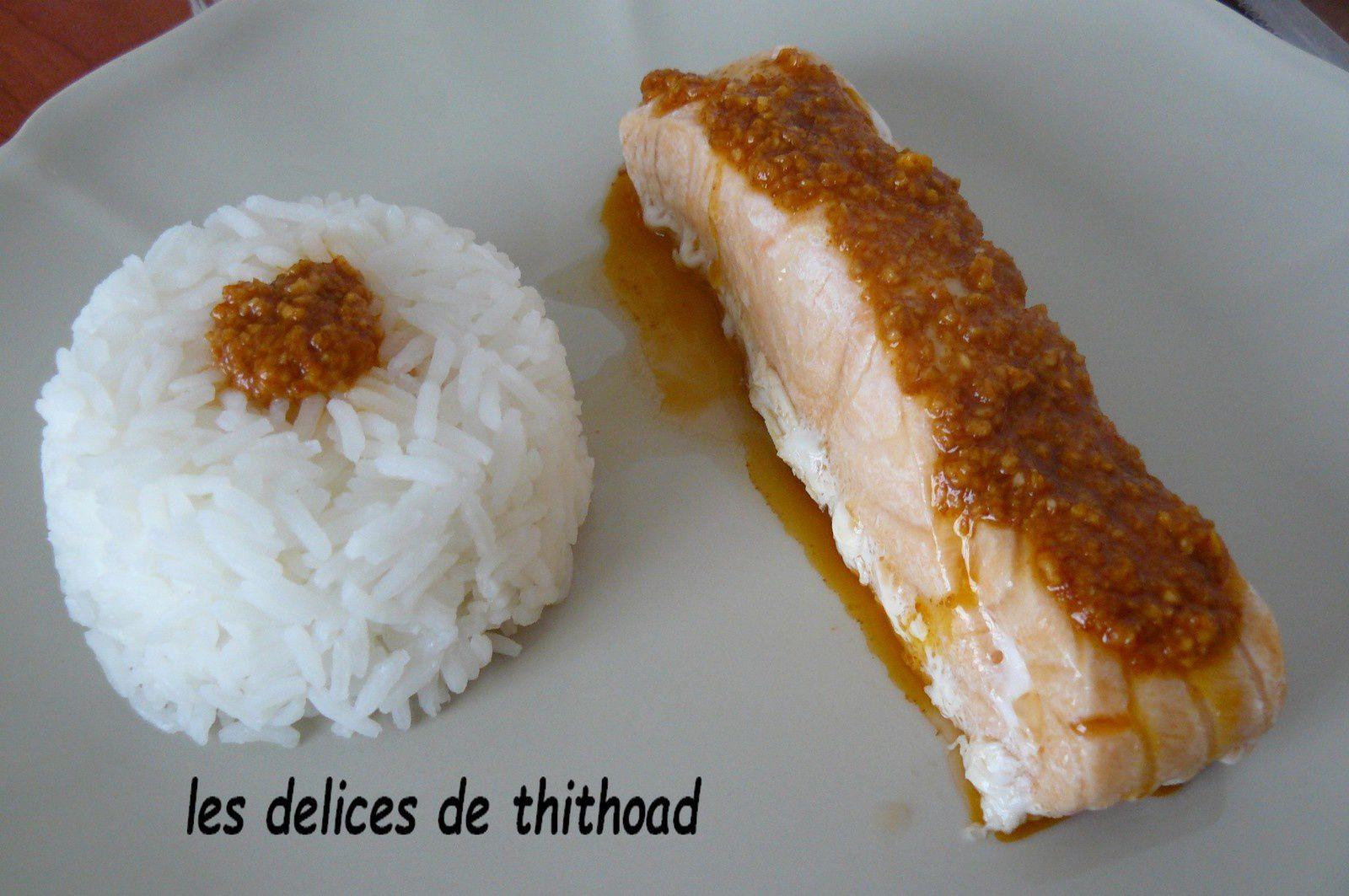 saumon à la sauce mojo