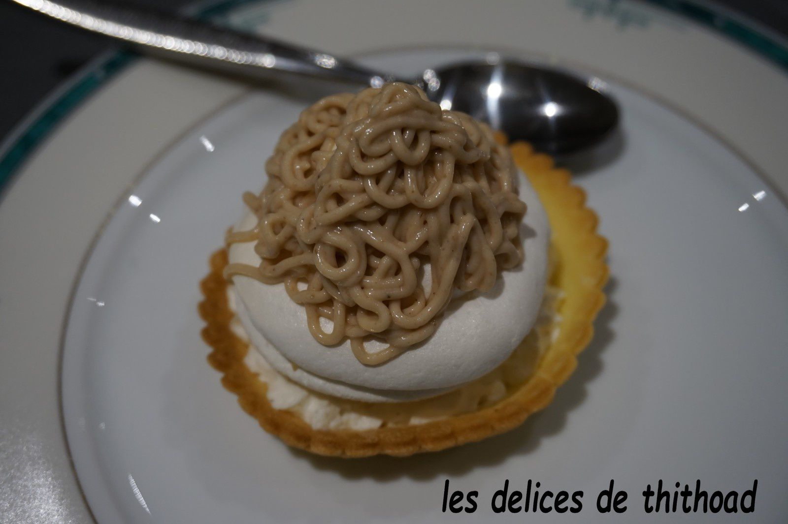 tartelettes Mont-Blanc