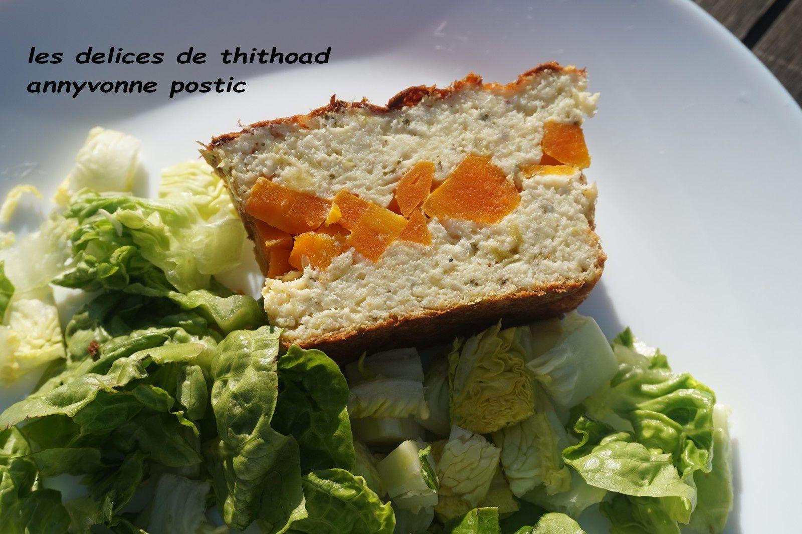 pain de poisson aux légumes