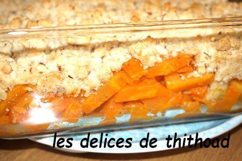 Crumble de carottes au I-cook'in ou pas