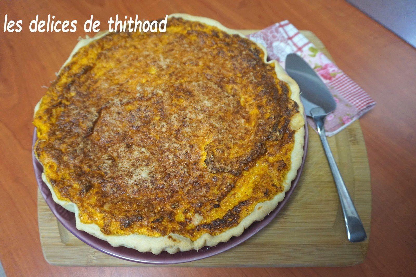 tarte au potimarron (foodista challenge 56)