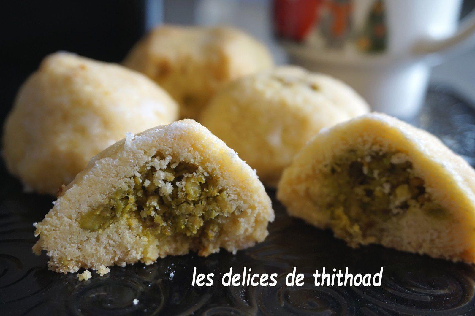 Biscuits Libanais à la fleur d'oranger
