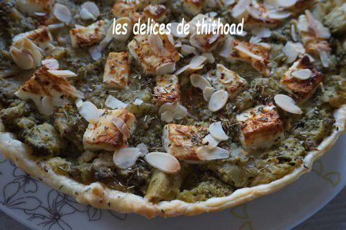 Tarte aux brocolis et féta épicée (recette autour d'un ingrédient #60)