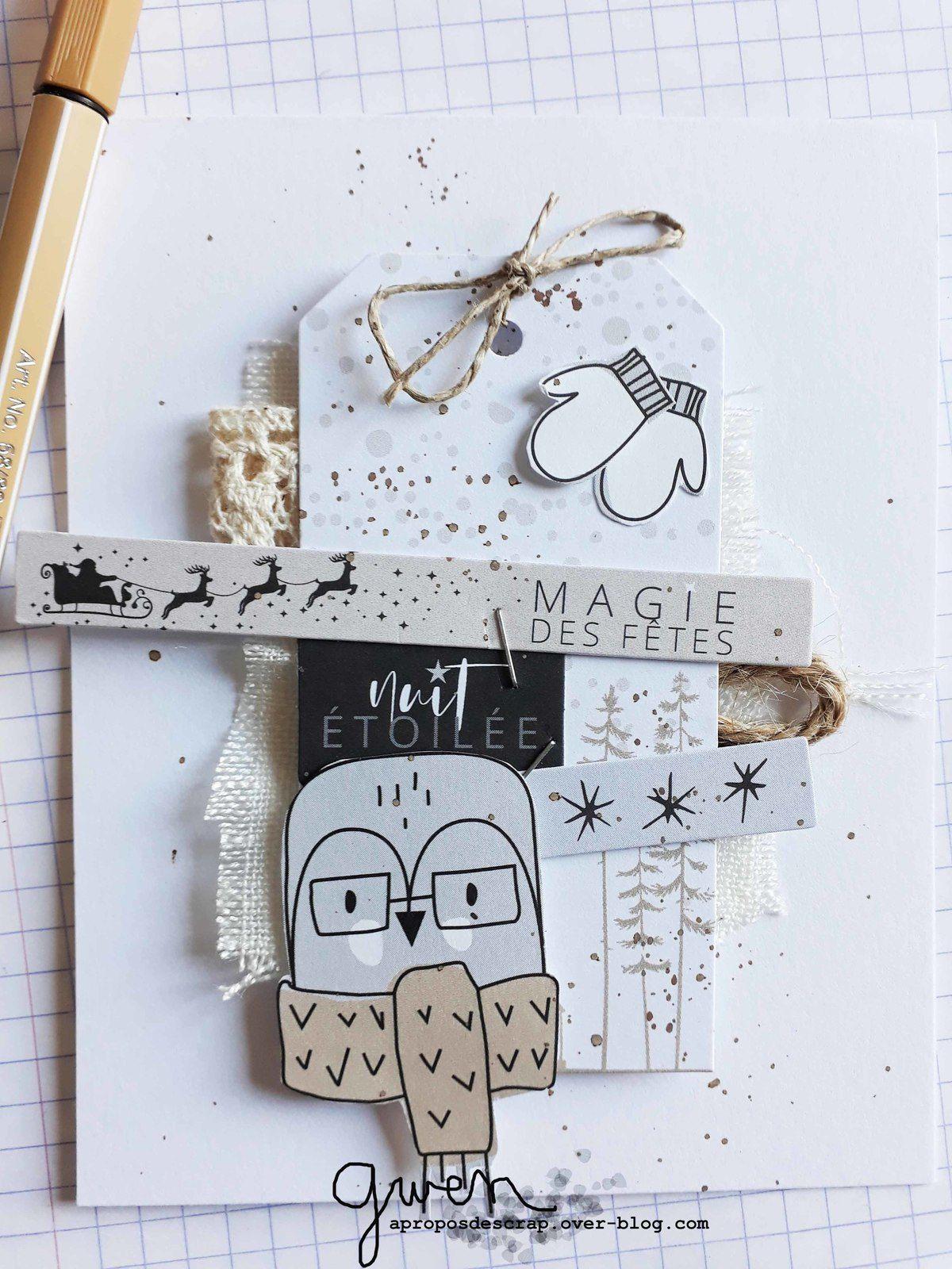 Des cartes tout en Ateliers de Karine
