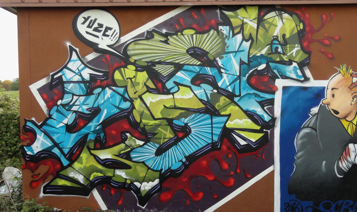 Street Art : Graffitis & Fresques Murales 77464 Thorigny sur marne