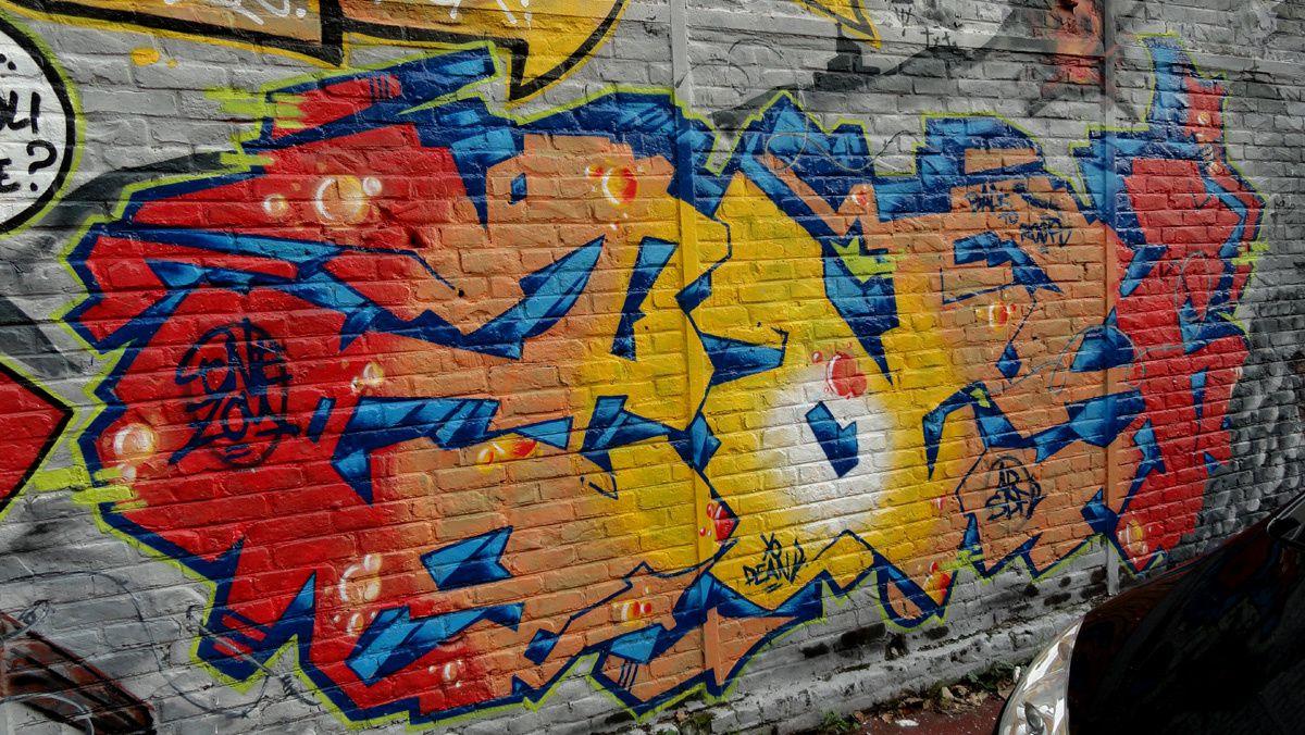 Street Art : Graffitis & Fresques Murales 59183 Dunkerque