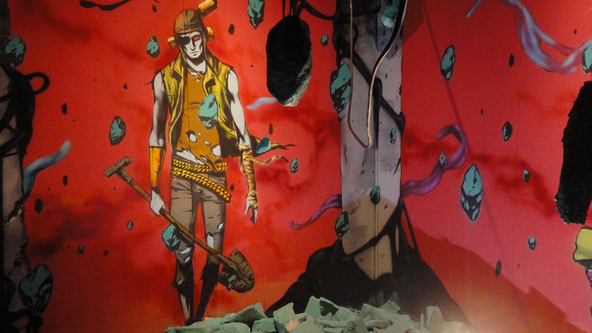 Street Art : Expo Transfert Aout 2016 33000 Bordeaux