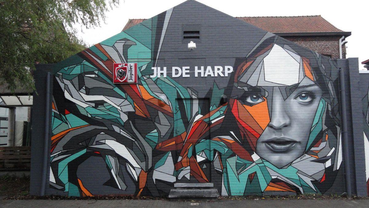 Street Art : Graffitis & Fresques Murales 8550 Awevegem (Belgique)