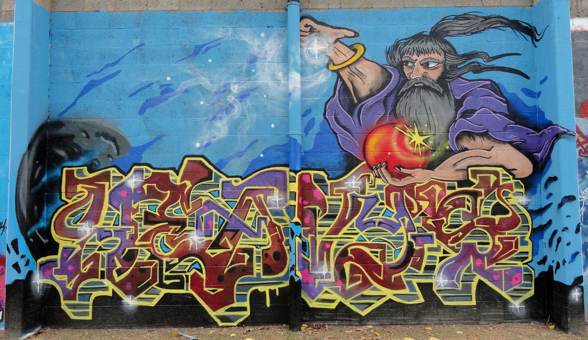 Street Art : Graffitis & Fresques Murales 1040 Etterbeek (Belgique)