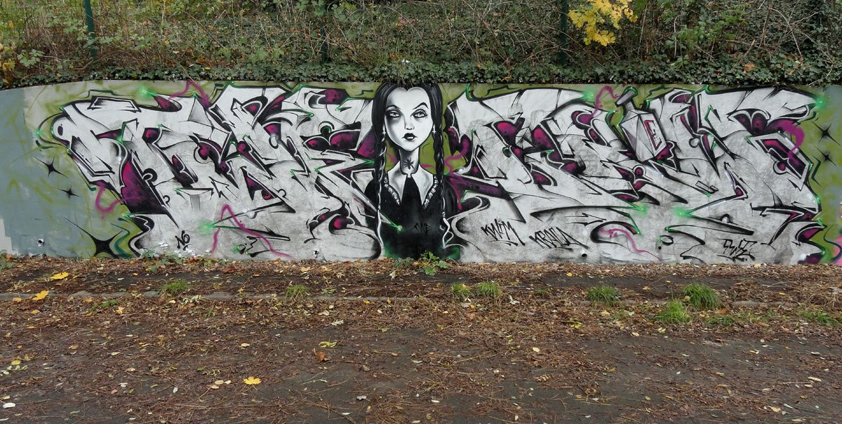 Street Art : Graffitis & Fresques Murales 93010 Bondy