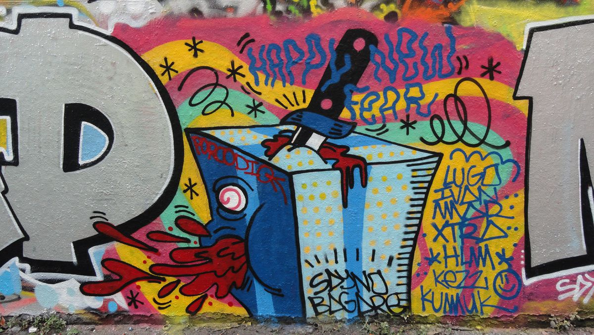 Album - Graffitis Paris Tom 056
