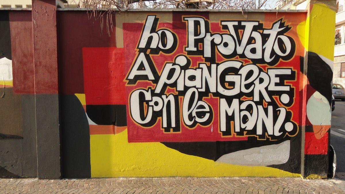 Street Art : Graffitis & Fresques Murales Milano (Italy)