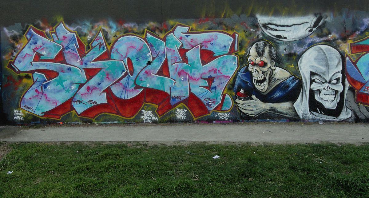 Album - Graffitis IVRY sur Seine Tom 027