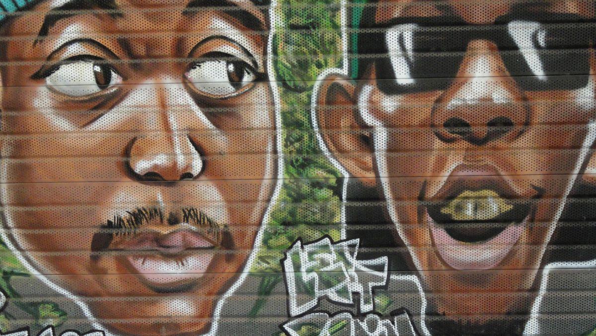 Street Art : Graffitis & Fresques Murales 59298 Hellemmes Lille