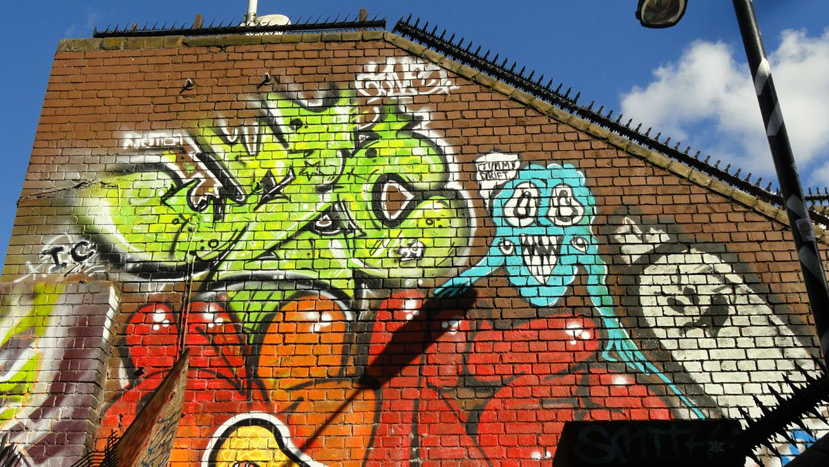Album - Graffitis London  Tom 003