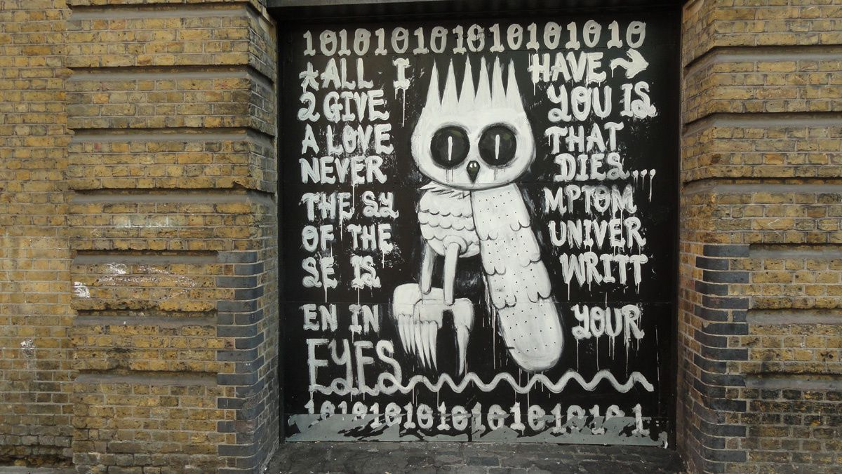 Street Art : Graffitis & Fresques Murales Shoreditch London