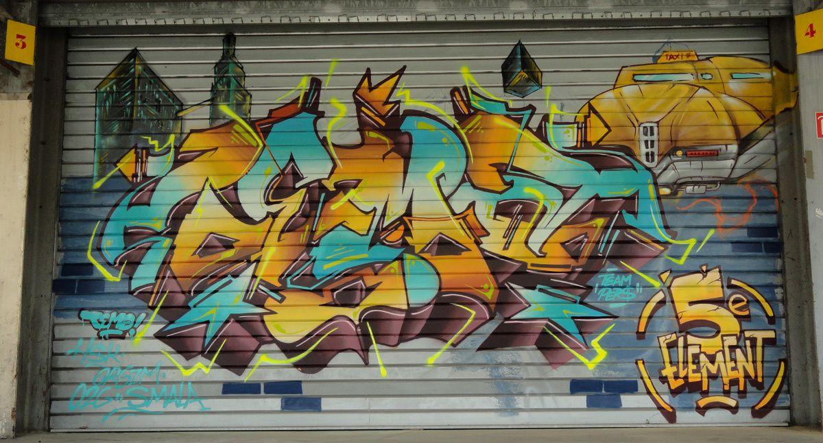 Album - Graffitis IVRY sur Seine Tom 028