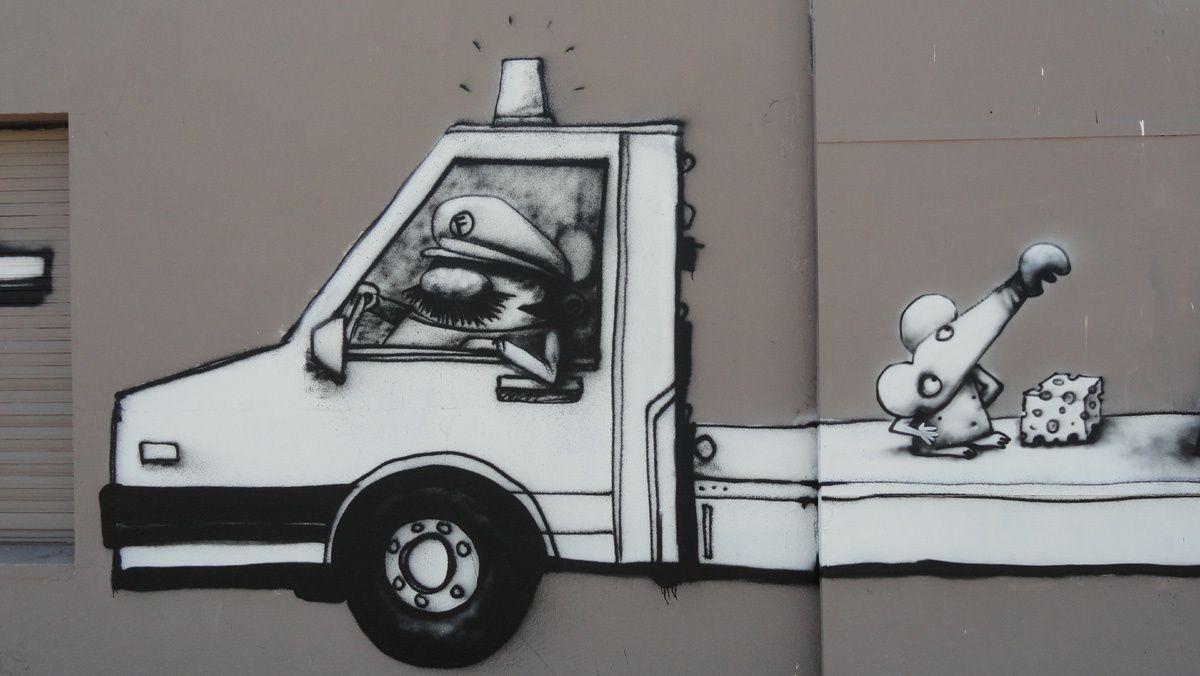 Street Art : Graffitis & Fresques Murales 44109 Nantes