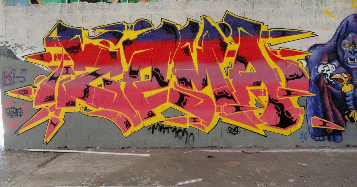 Street Art : Graffitis & Fresques Murales Département Ille-et-Vilaine (35)