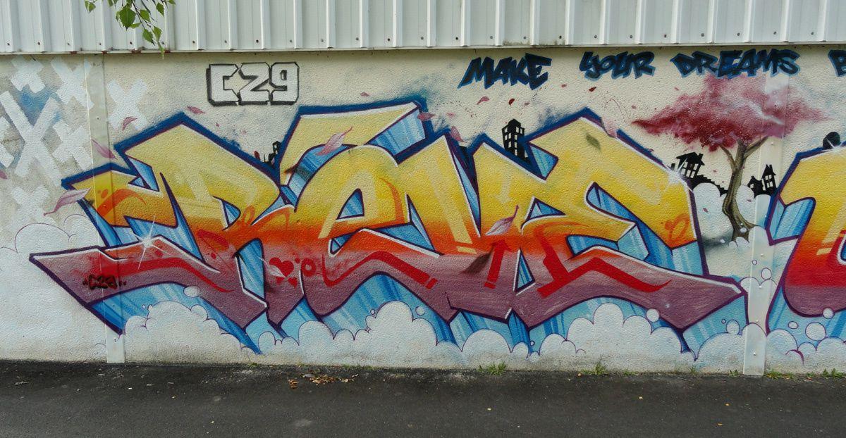 Street Art : Graffitis & Fresques Murales 29235 Le Relecq Kerhuon