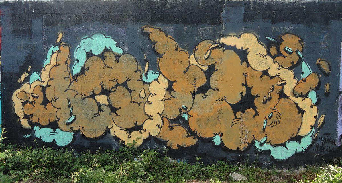 Street Art : Graffitis & Fresques Murales 56260 Vannes