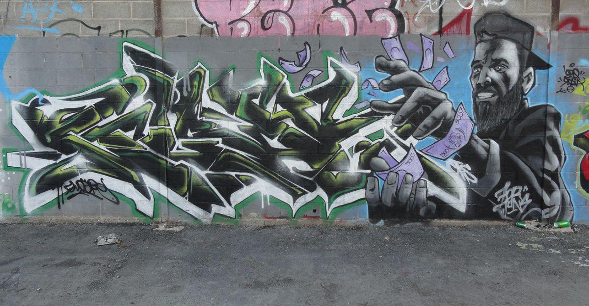 Street Art : Graffitis & Fresques Murales 35055 Chantepie