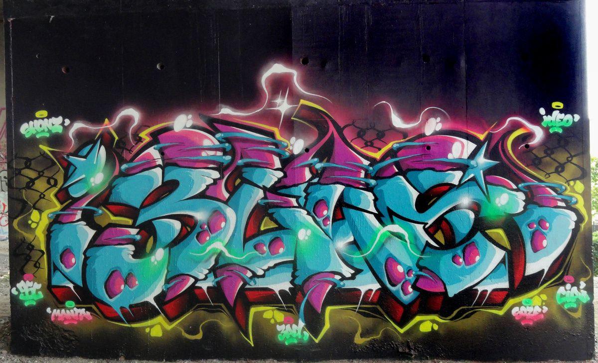 Street Art : Graffitis & Fresques Murales 93053 Noisy le sec