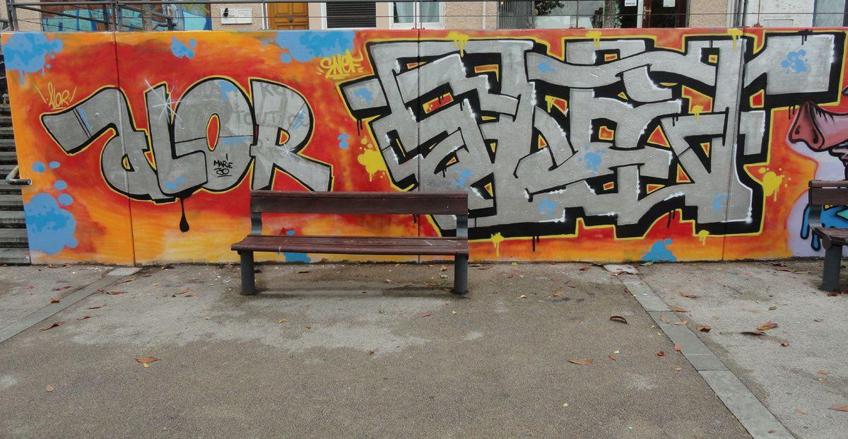 Street Art : Graffitis & Fresques Murales 65417 Semeac