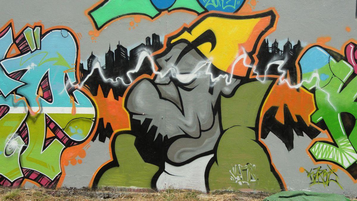 Street Art : Graffitis & Fresques Murales 82121 Montauban