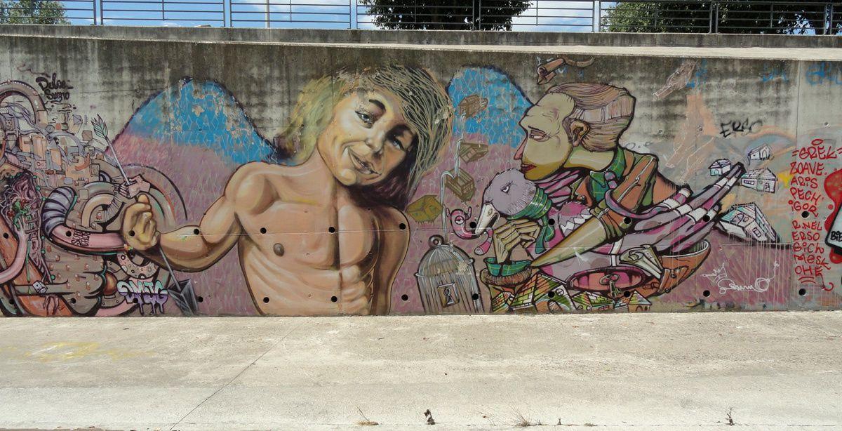 Street Art : Graffitis & Fresques Murales 30189 Nimes
