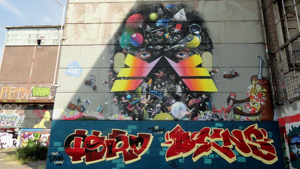Street Art : Graffitis & Fresques Murales 6200 Masstricht  (Pays-Bas)