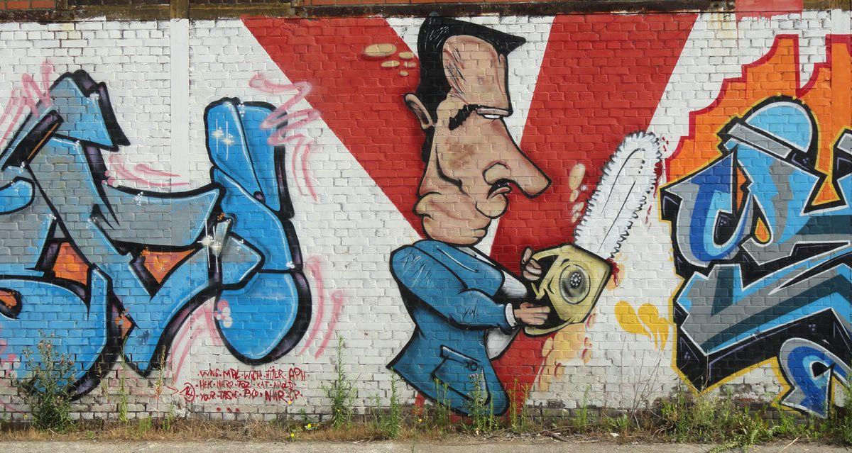 Street Art : Graffitis & Fresques Murales 6001 Charleroi (Belgique)
