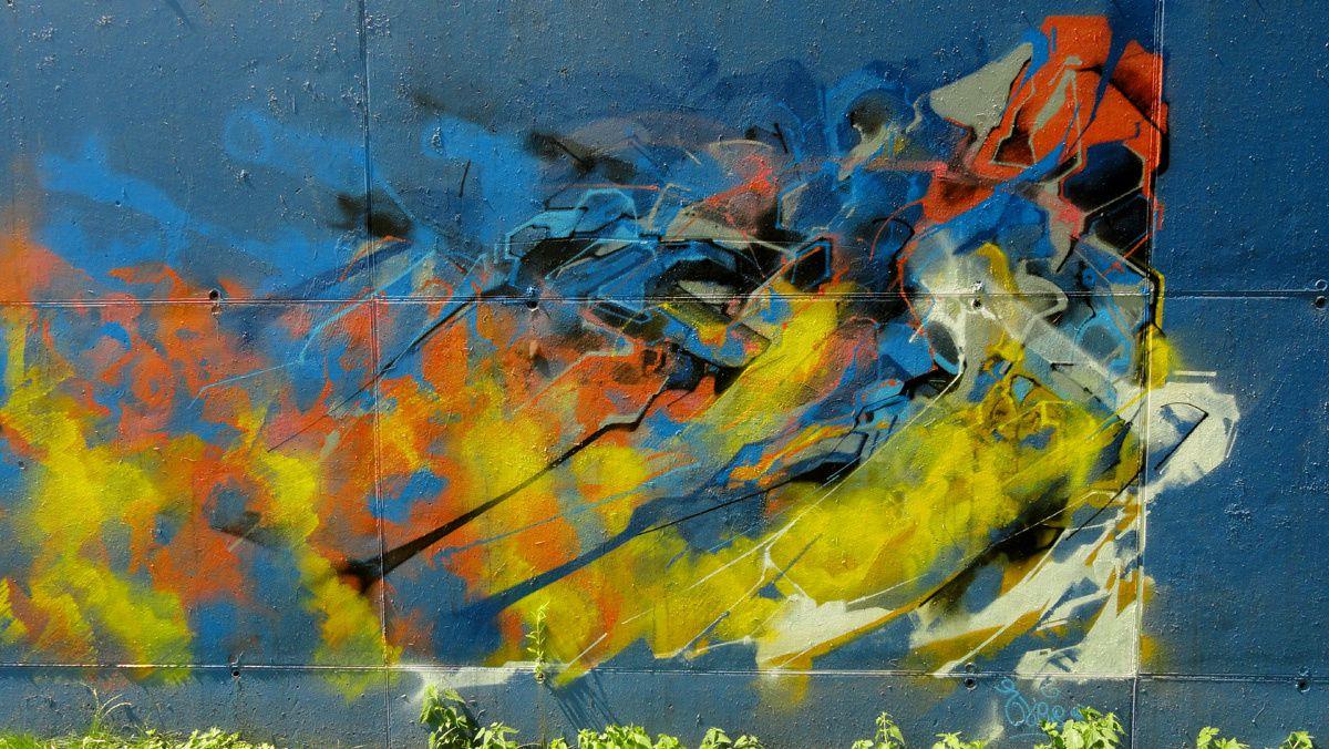 Street Art : Graffitis & Fresques Murales 4680 Oupeye (Belgique)