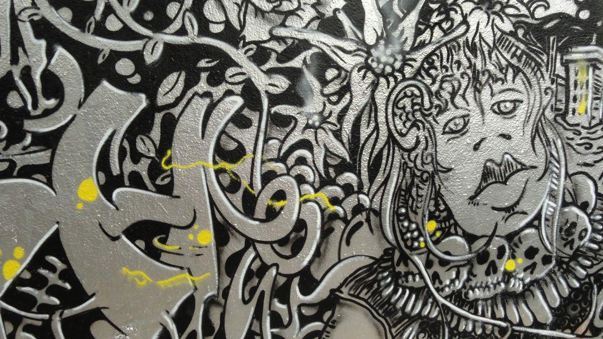 Street Art : Graffitis & Fresques Murales 75020 Paris