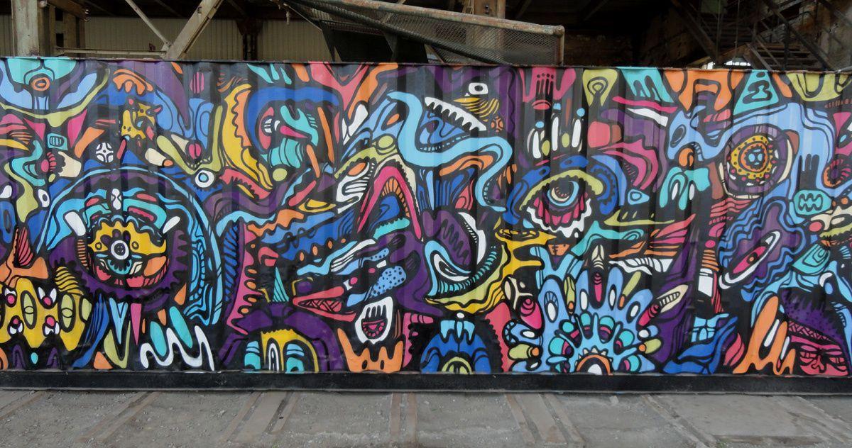 Street Art : Graffitis & Fresques Murales 41000 Seraing (Belgique)