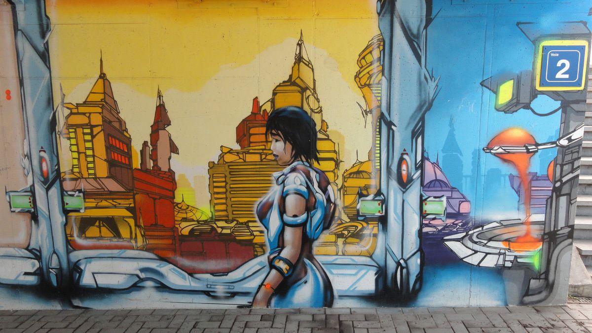 Street Art : Graffitis & Fresques Murales 4040 Herstal (Belgique)