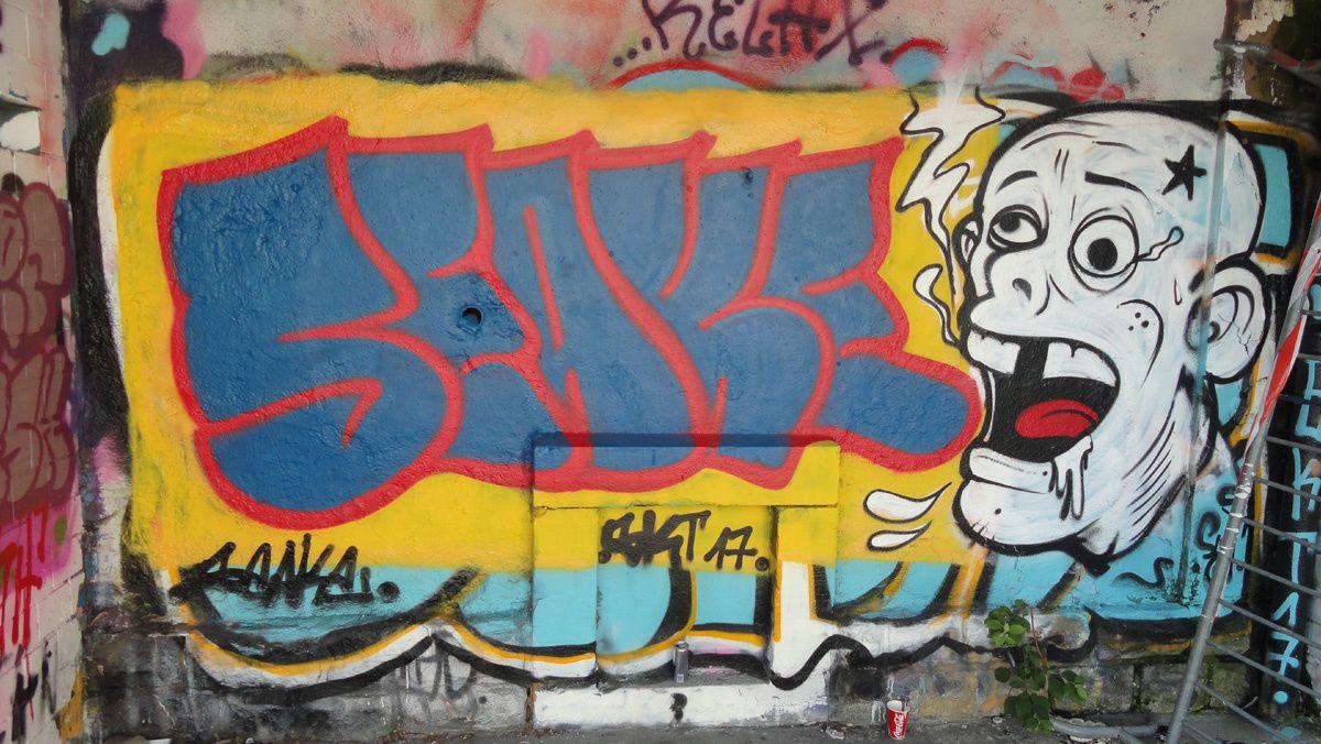 Street Art : Graffitis & Fresques Murales Luxembourg
