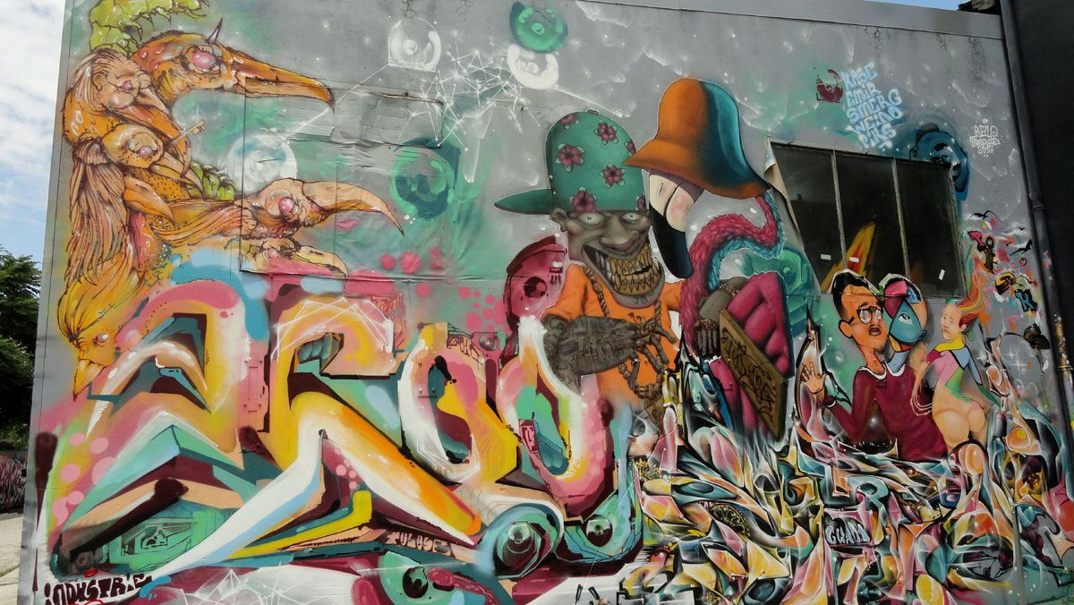 Street Art :Graffitis & Fresques Murales 31400 Toulouse