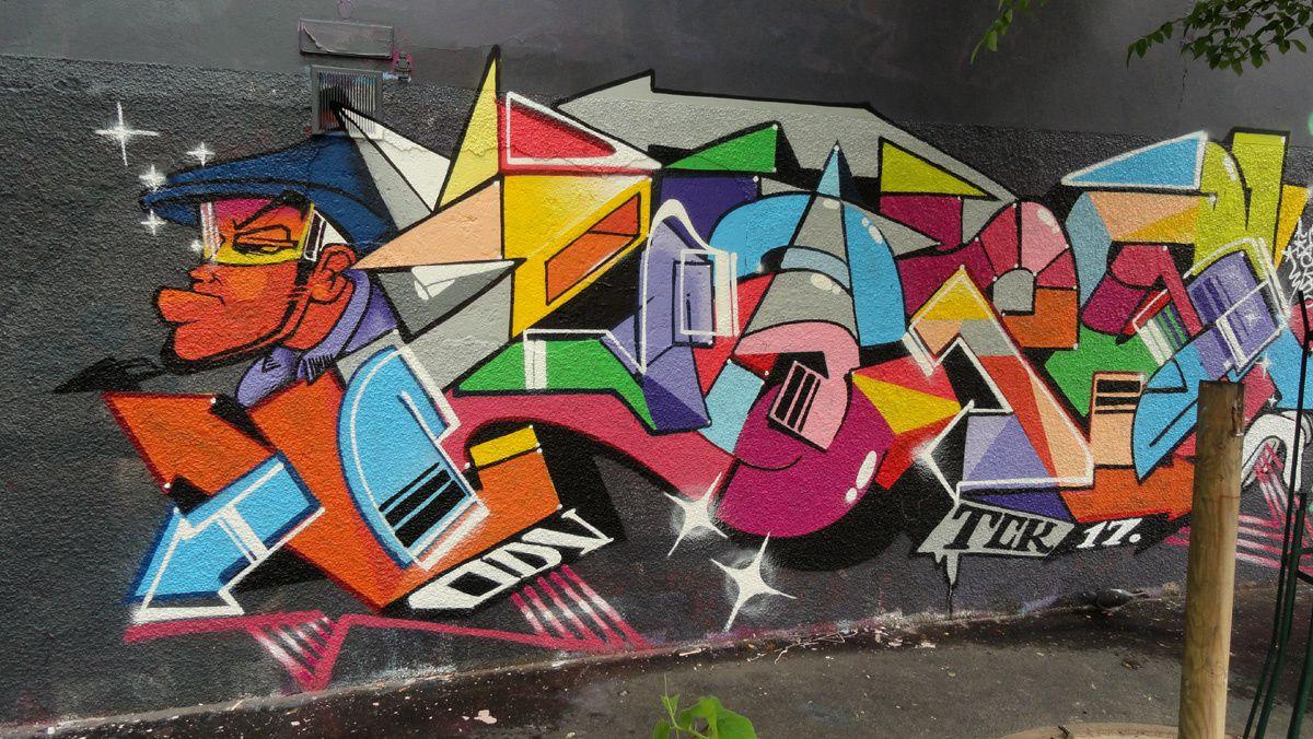 Street Art :Graffitis & Fresques Murales 75011 Paris