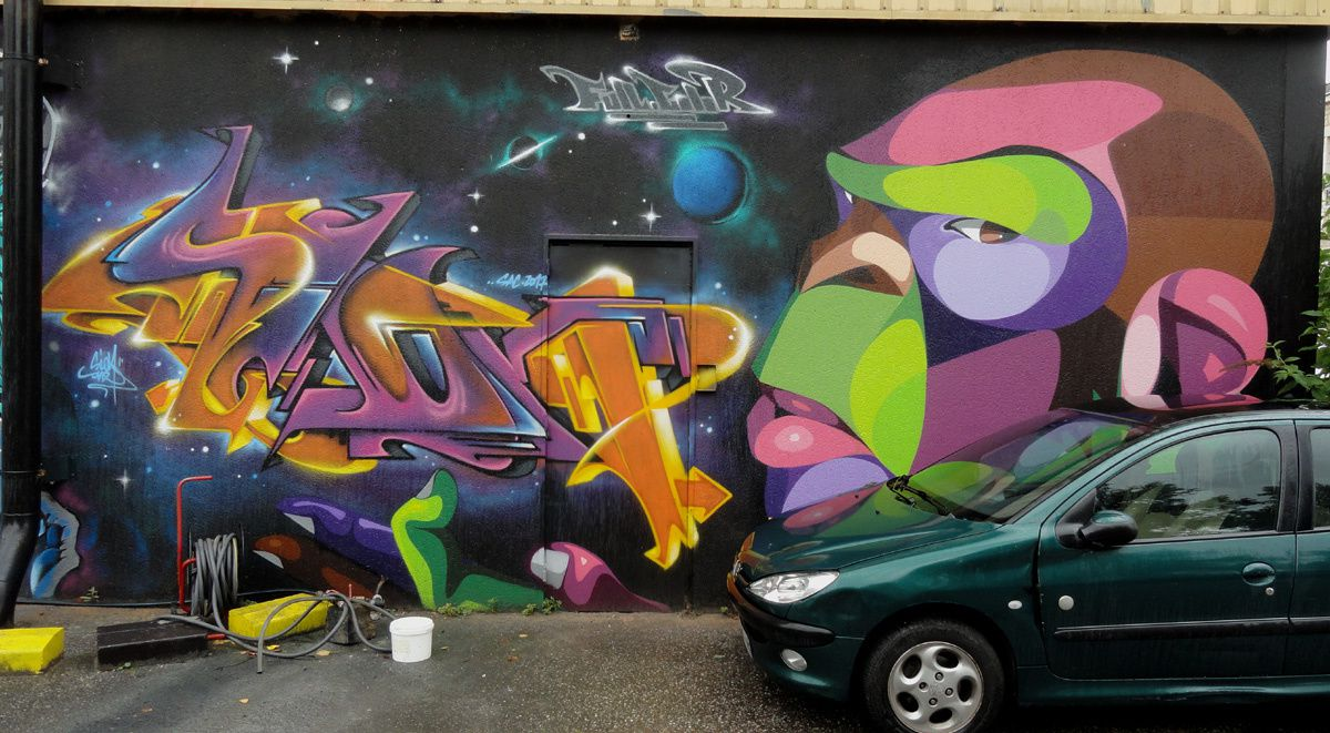 Album - Graffitis Caserne Niel Bordeaux Tom 009