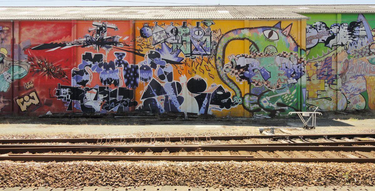 Street Art : Graffitis & Fresques Murales 29103 Landerneau