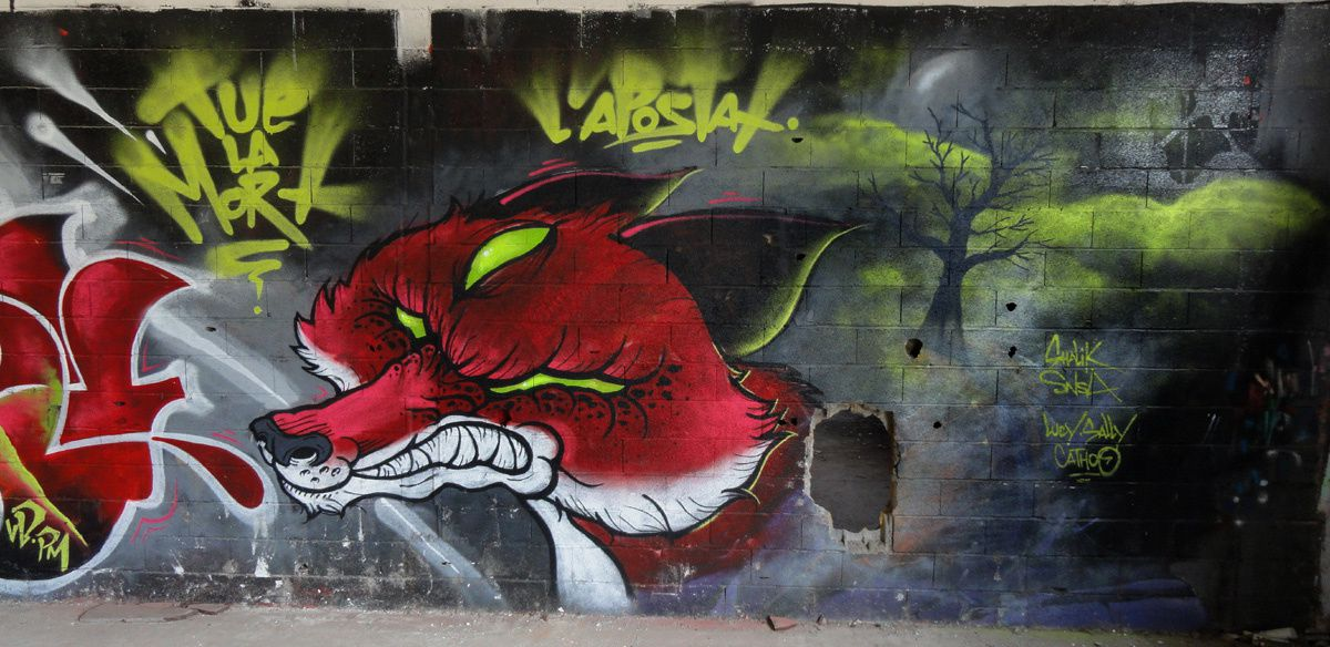 Street Art : Graffitis & Fresques Murales 31200 Toulouse