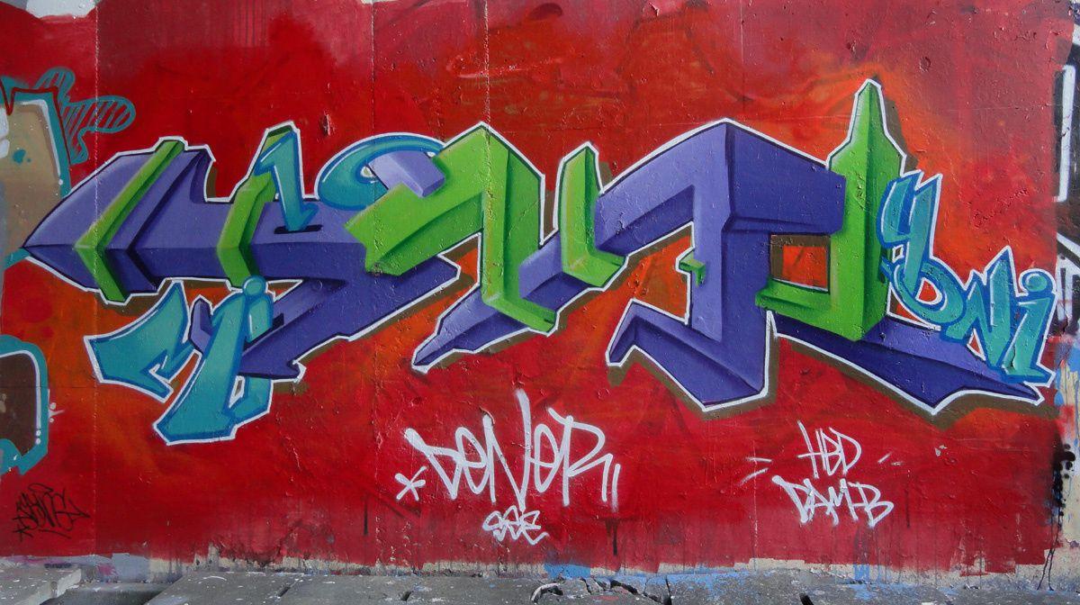 Street Art : Graffitis & Fresques Murales 6100 Charleroi (Belgique)